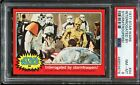1977 Topps Star Wars Red Series 2 #94 INTERROGATED BY STORMTROOPERS! PSA 8 NM-MT