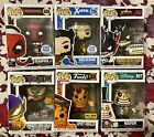 Funko Pop! LOT OF 6 Marvel, Deadpool XMEN Disney Spicy Oodles Exclusives RARE!!