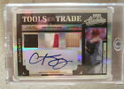 2004 Curt Schilling 1 1 Factory Stamped Phillies Triple Relic + Auto Donruss