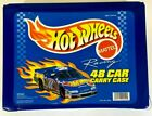 Vintage 1997 Mattel Hot Wheels 48 Car Carry Case With 37 Hot Wheels Excellent