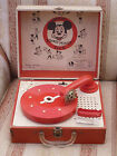 EARLY MICKEY MOUSE CLUB RECORD PLAYER LIONEL TOYS WALT DISNEY MOUSEKETEERS