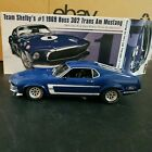 ACME 118 1969 FORD BOSS 302 MUSTANG TRANS AM STREET VERSION IN BLUEBRAND NEW