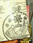 Vintage Zimonicks CHRISTMAS NATIVITY CRECHE Holy Family Manger Ornament Kit