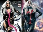 BLACK CAT 1 MIKE MAYHEW VENOMIZED  KNULLIFIED VARIANT SETPREORDER