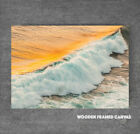 BEAUTIFUL OCEAN SUNSET WAVES CANVAS 81 SEA WAVE SUNSET CANVAS PICTURE WALL ART