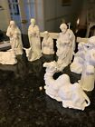Vintage Homco numbered white nativity
