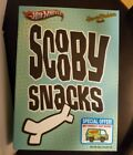 SDCC 2012 Mattel Exclusive HOT WHEELS Mystery Machine Scooby Snacks Mint In Box