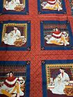 Joan Messmore Red Indian Native American Cotton Quilting Fabric 5+ Yards