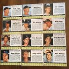 1961 POST BB STARTER LOT OF 24 Box CARDS mostly EX CLEAN BACKS W STARS.