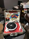 Popeyes Dynomite Music Machine Portable Record Player Turntable Works Emerson