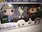 Funko POP! Frozen 2 Anna, Elsa, and Olaf 3 Pack Barnes And Noble Exclusive Mint