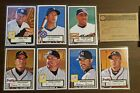 2001 Topps Heritage Black Backs series 1-80 complete set. Mint condition.
