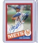2016 TOPPS ARCHIVES FAN FAVORITES DWIGHT DOC GOODEN AUTOGRAPH AUTO RED # 28 50 #