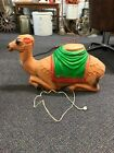 Vintage Blow Mold Christmas Lighted Outdoor Nativity Camel