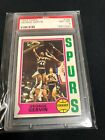 George Gervin 1974 Topps RC #196 PSA 8 NM-MT