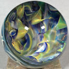 Vortex Art Glass Marble by Bill Grout 210 Diverse Mix up 120220 Boro Glass