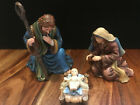 Thomas Kinkade Nativity Pieces Christ Child Mother Mary  Father Joseph