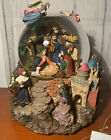 Kirkland Signature Nativity Scene Musical Waterglobe Globe Revolving Base 109619