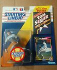 1992 Starting Lineup Figure MLB Tom Seaver New York Mets Extended w/ Poster