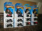 Hot Wheels Lot of 12 Ducati 1199 Panigale Diavel Motorcycle Variation