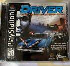 Driver Sony PlayStation 1 1999 Original Black Label You Are The Wheelman