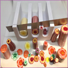 Polymer clay cutters ROUND cane clay slicer Gilly Slicer