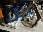 Avon Nativity Collectibles Holy Family porcelain figures  Christmas Manger