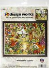Design Works Counted Cross Stitch Kit 14X18 Castle In The Clearing 14 Count