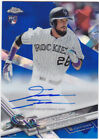 2017 Topps Chrome Baseball Complete Set Sapphire Edition Cards 24