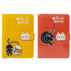 Cute Stationery Notebook Planner Diary With Closure Clasp With Cat Design 5x7