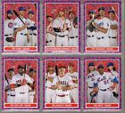 2016 Topps Throwback Thursday Mod Squad Team 6-Card Set TBT #78-83