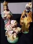 Vintage Homco 3 Kings Wise Men Figurines Christmas Nativity 5254 home interior