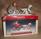 Lemax Village Dickensvale Porcelain Gift Delivery By Carriage