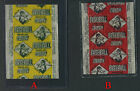 HOARDERS SALE NEW SUPER RARE 1951 TOPPS BLUE BACK CANDY WRAPPER BLUE YELLOW
