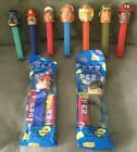 Assorted Lot of 9 Emergency Heroes Pez Dispensers Nurse Pilot Fireman Army VGC