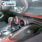 2016 2021 Chevy Camaro Real Carbon Fiber Side Knee Pad Console Dash Covers 17 18