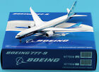 JC Wings 1400 LH4160 Boeing House Color B777 9X Diecast Aircraft Model N779XW