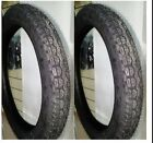 2 Tyres Wheels Tires 2 1 2 16 Moped Motorcycle Piaggio Si Ciao