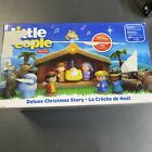 FISHER PRICE LITTLE PEOPLE DELUXE CHRISTMAS STORY NATIVITY NEW