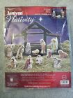 Janlynn Counted Cross Stitch Kit Nativity Set Of 12 Figures Kit 023 0520