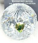 TIMES SQUARE COLLECTION WATERFORD CRYSTAL HOPE FOR ABUNDANCE 2001 PAPERWEIGHT