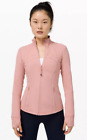 Lululemon Women Define Jacket Luon Pink Pastel New With Tags Free Shipping