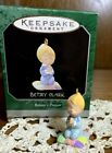 So Cute! HALLMARK BETSEY CLARK 'BETSEY'S PRAYER' MINIATURE ANGEL ORNAMENT 1998