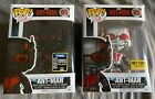 Funko Pop LOT OF 2 Marvel Ant-man #85 Hot topic & 2015 Summer Con Exclusives