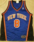 THROWBACK NBA NEW YORK KNICKS SPREWELL JERSEY PUMA AUTHENTIC 48 LARGE VINTAGE