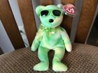 """Ty Beanie Baby """"LIME ICE"""" the Bear MWMT 2007 (Summer Trade Show)"""