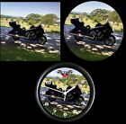 Indian Victory Honda CUSTOM Let me put your ride black 10 Inch Wall clock NEW