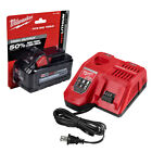 New MILWAUKEE Rapid Charger 48 59 1808 + 48 11 1880 M18 80aH Battery 48 59 1880