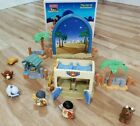 Fisher Price Little People The Inn At Bethlehem Christmas Nativity N6012 No Flag