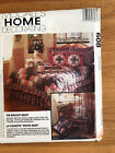 RARE 608 McCALLS SEWING PATTERN BISCUIT QUILT SET PILLOW THROWS  SHAMS